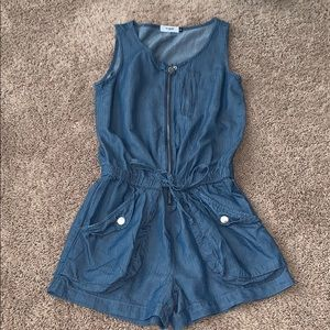 Kensie Denim Romper